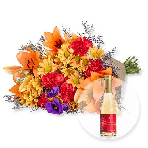 Samba XL und Rosenblüten-Secco Alles Liebe zum Valentinstag