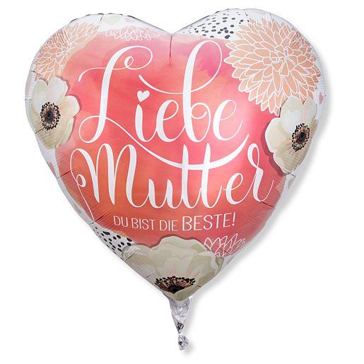 Riesenballon Liebe Mutter - du bist die Beste