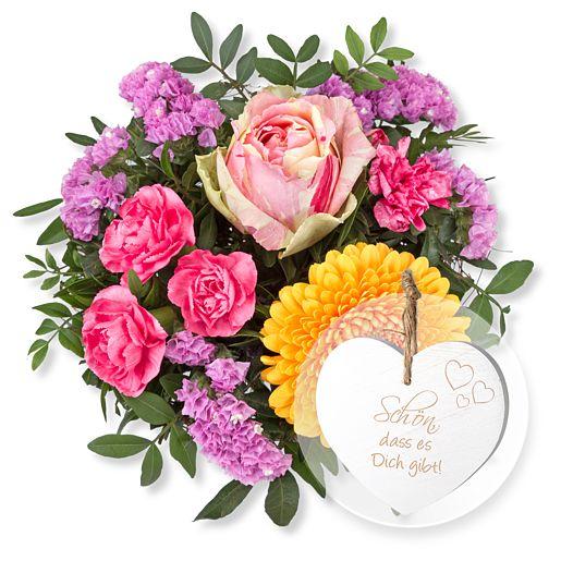 - Lovely und Vintage Herz Schön, dass es Dich gibt! - Onlineshop Valentins