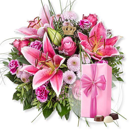 Pink Sensation und Belgische Pralinen