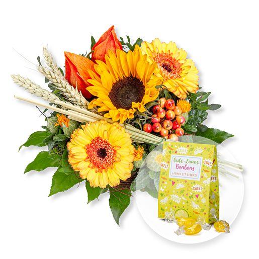 Nützlichblumen - Septemberbote und Gute Laune Bonbons - Onlineshop Valentins