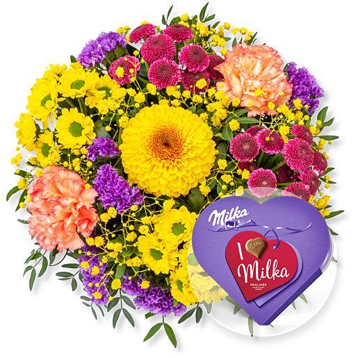 - Buntes Glück und I love Milka Pralinés - Onlineshop Valentins