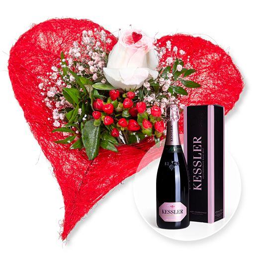 - Forever und Kessler Rose Sekt - Onlineshop Valentins