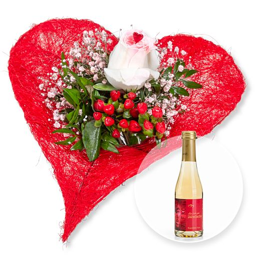 - Forever und Rosenblüten Secco Alles Liebe zum Valentinstag - Onlineshop Valentins