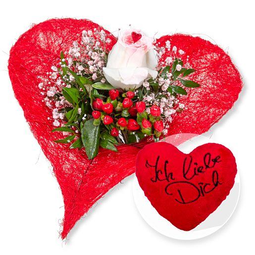 - Forever und Kuschel Herz Ich liebe Dich - Onlineshop Valentins