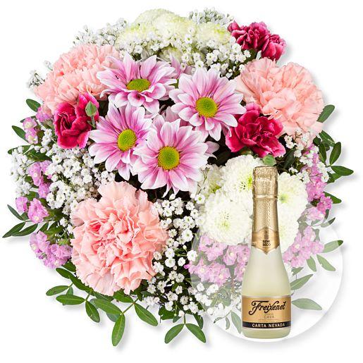- Blütenzauber und Freixenet Semi Seco - Onlineshop Valentins