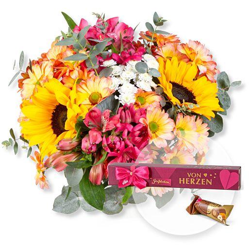 Nützlichblumen - Sunny Day und Grußbote Von Herzen - Onlineshop Valentins