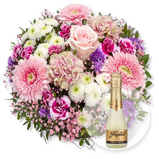 Nützlichblumen - Flair und Freixenet Semi Seco - Onlineshop Valentins
