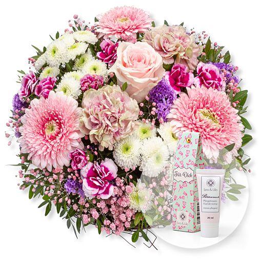 Nützlichblumen - Flair und Blütenrausch Pfingstrosen Handcreme Für Dich - Onlineshop Valentins