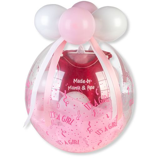 Partybedarfballons - Stuffer Ballon It is a Girl - Onlineshop Valentins