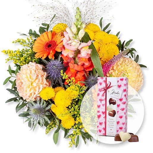 Nützlichblumen - Colours und Herz Pralinen Trio - Onlineshop Valentins