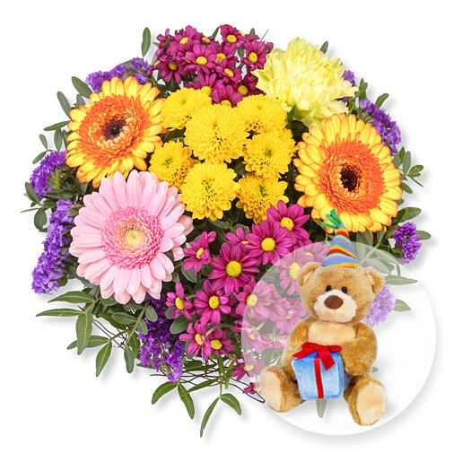 - Alles Liebe und Glückwunsch Teddy - Onlineshop Valentins