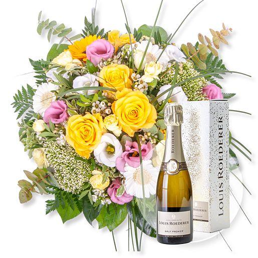 - Florence und Champagner Louis Roederer Brut Premier - Onlineshop Valentins