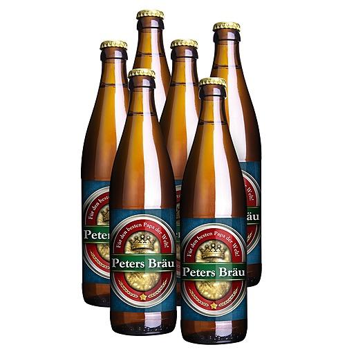 Mein eigenes Bier (6x0,5l) und Bierdeckel