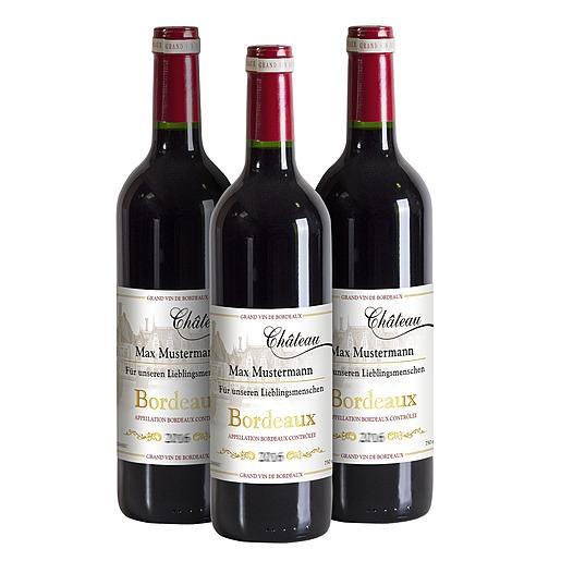 Individuellleckereien - Mein eigener Bordeaux (3x 0,75 l) - Onlineshop Valentins