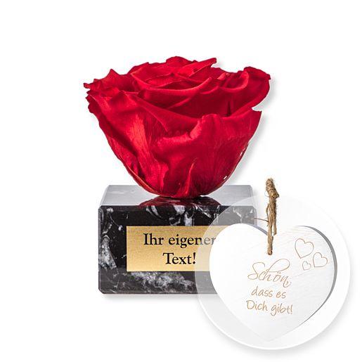 Individuellbesonders - Personalisierte Ewige Verbundenheit und Vintage Herz Schön, dass es Dich gibt! - Onlineshop Valentins