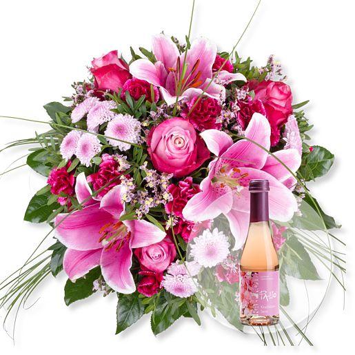 Chanson und Kirschblüten-Secco
