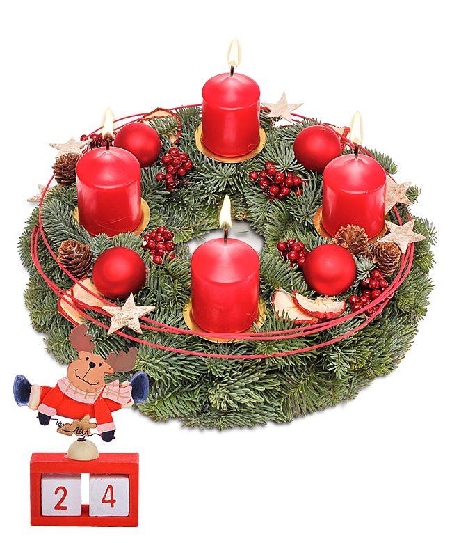 Gratis Bilder Frohe Weihnachten.Adventskranz Frohe Weihnachten Und Gratis Xmas Countdown