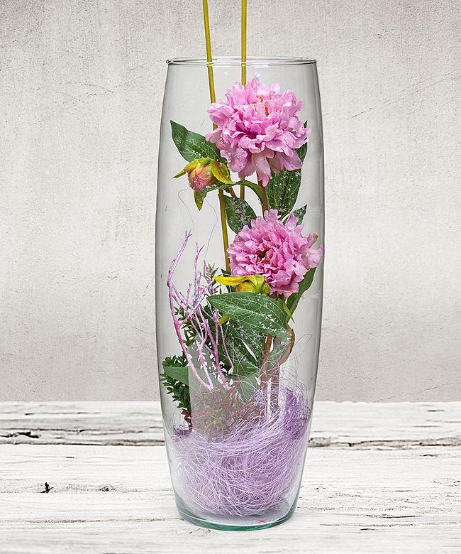 deko vase paeonie flieder jetzt bestellen bei valentins valentins blumenversand blumen und. Black Bedroom Furniture Sets. Home Design Ideas
