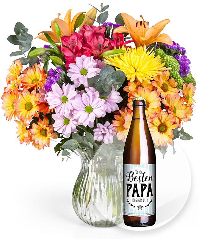 Happiness und Bier Für den besten Papa der ganzen Welt! - jetzt bestellen bei Valentins