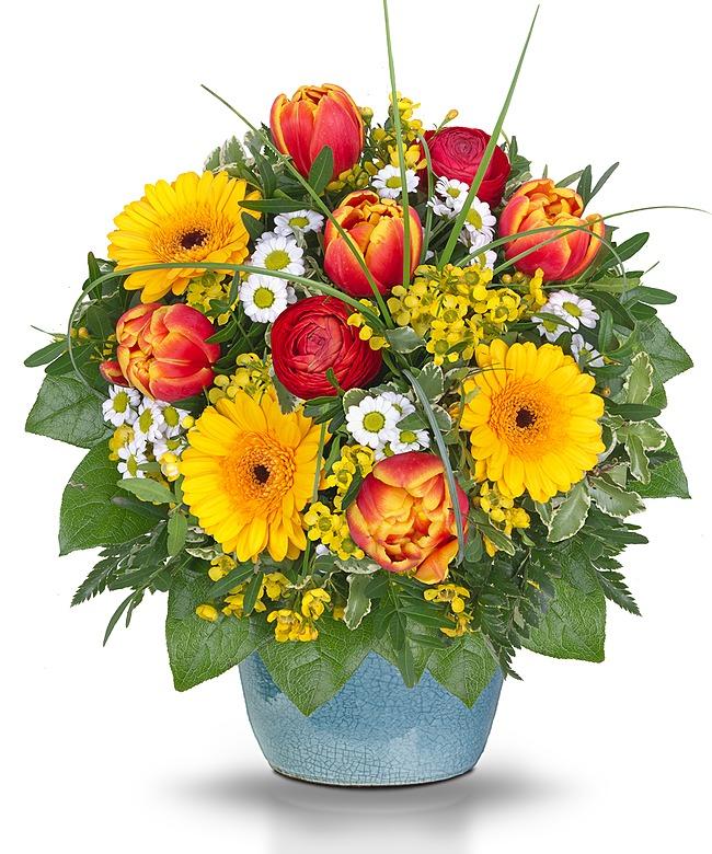 Virtueller Blumenstrauß