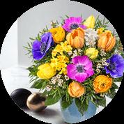 Blumensträusse zu Ostern